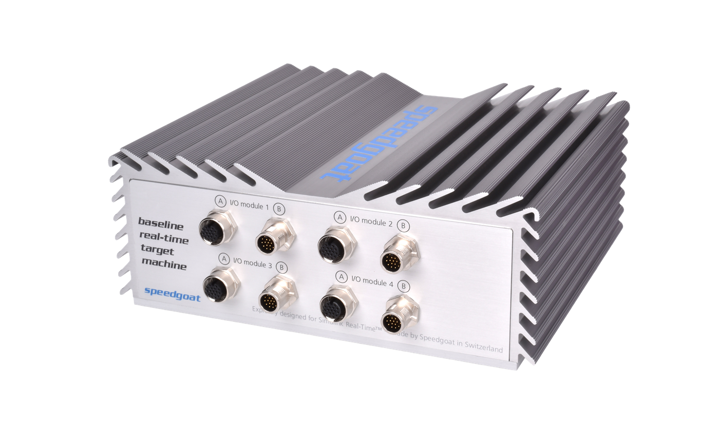 Rapid Control Prototyping (RCP) - Speedgoat
