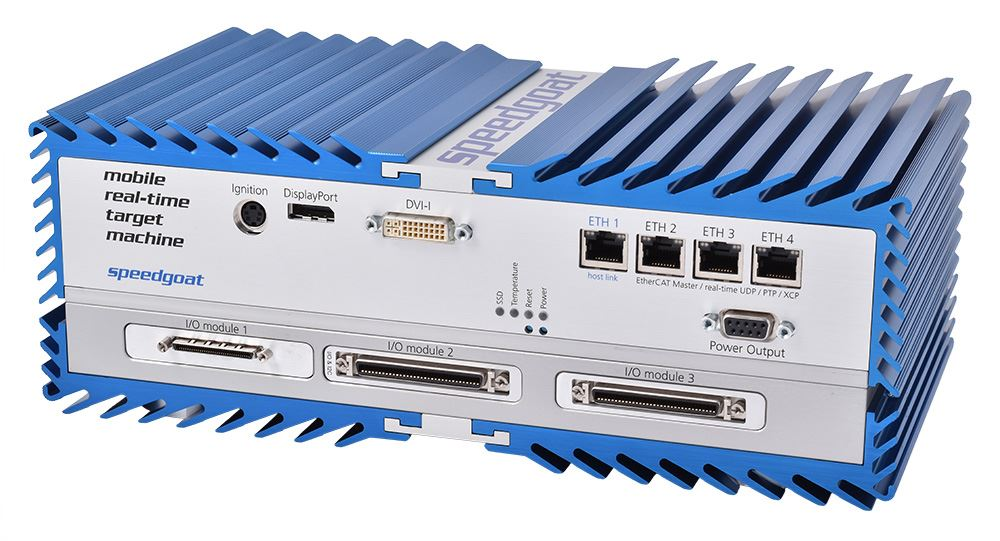 Mobile - rugged Simulink real-time computer for in-vehicle & field use